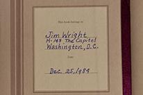 Jim Wright Diary