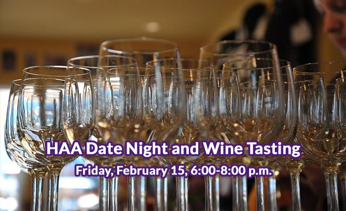 HAA Date Night and Wine Tasting
